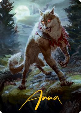 Arlinn, the Moon's Fury 1 Art Card 2/81