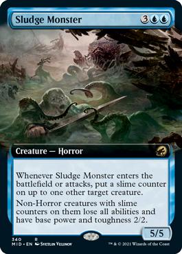 Sludge Monster