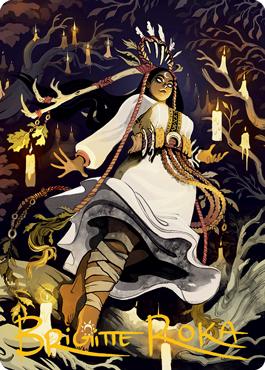 Candlegrove Witch 2 Art Card 76/81