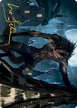 Stalking Predator Art Card 40/81