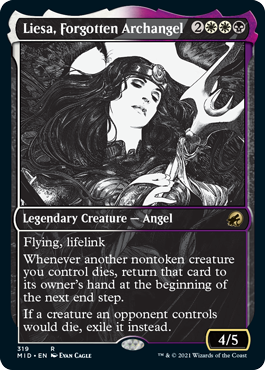 Liesa, Forgotten Archangel