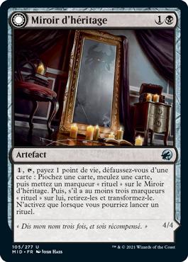 Miroir d'héritage