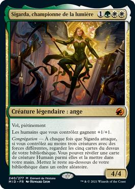 Sigarda, championne de la lumière