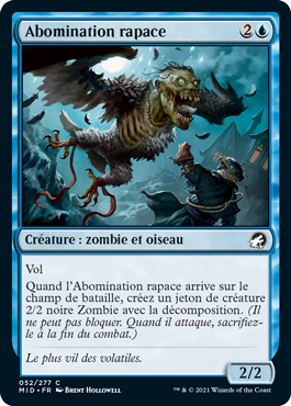 Abomination rapace