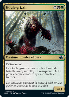 Goule grizzli