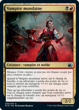Vampire mondaine