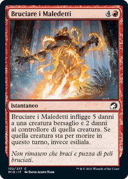 Bruciare i Maledetti