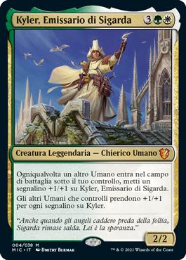 Kyler, Emissario di Sigarda