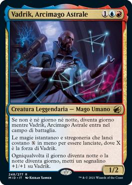 Vadrik, Arcimago Astrale