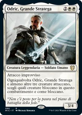 Odric, Grande Stratega