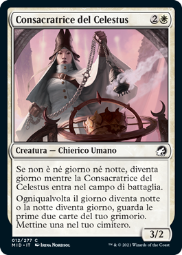 Consacratrice del Celestus