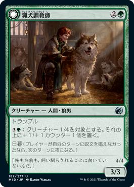 猟犬調教師