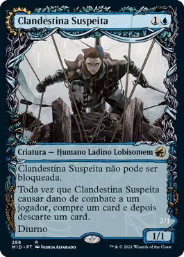 Clandestina Suspeita