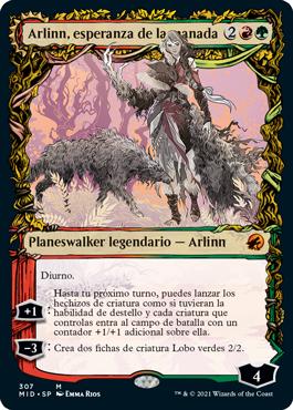 Arlinn, esperanza de la manada