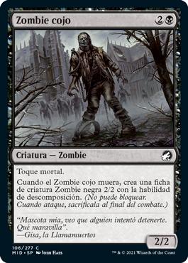 Zombie cojo