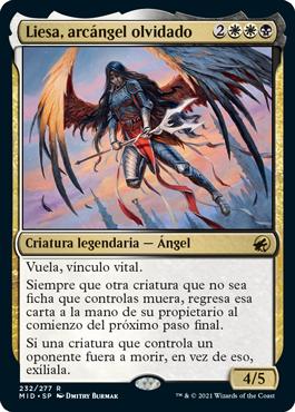 Liesa, arcángel olvidado