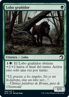 Lobo gruñidor