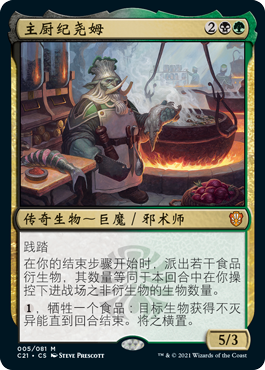 Gyome, Master Chef