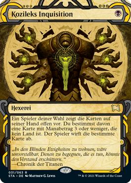 Kozileks Inquisition