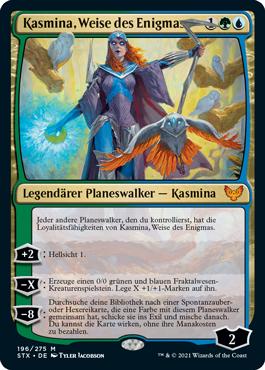 Kasmina, Weise des Enigmas