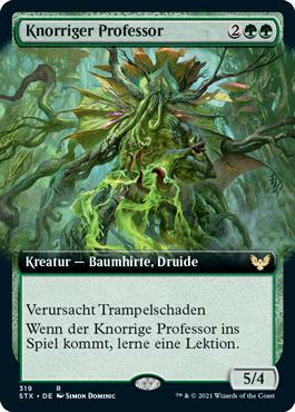 Knorriger Professor