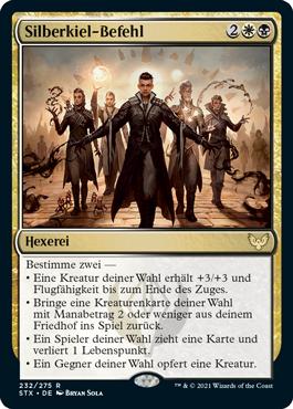 Silberkiel-Befehl