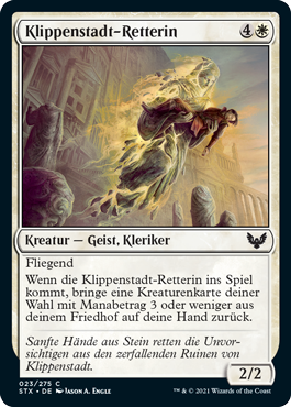 Klippenstadt-Retterin