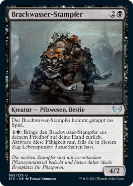 Brackwasser-Stampfer