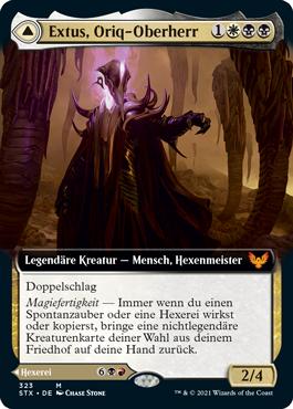 Extus, Oriq-Oberherr