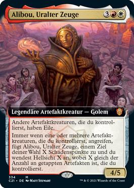 Alibou, Uralter Zeuge