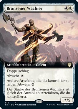 Bronzener Wächter