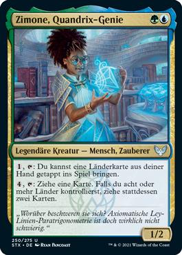 Zimone, Quandrix-Genie