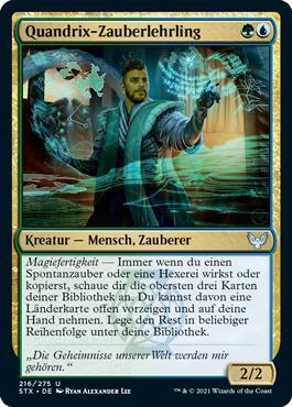 Quandrix-Zauberlehrling