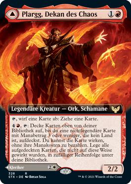Plargg, Dekan des Chaos