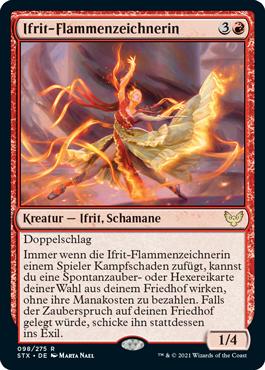 Ifrit-Flammenzeichnerin