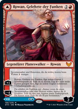 Rowan, Gelehrte der Funken