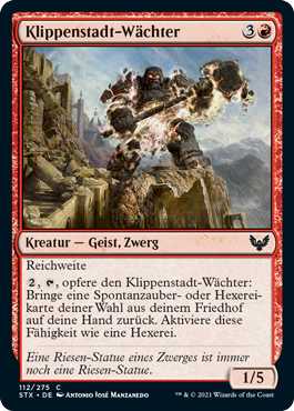 Klippenstadt-Wächter