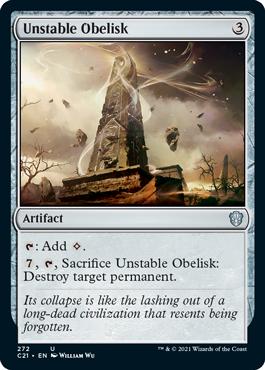 Unstable Obelisk