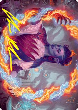 Rootha, Mercurial Artist Art Card