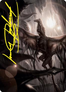 Shadrix Silverquill signature art card