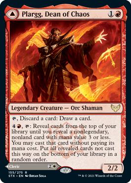 Plargg, Dean of Chaos