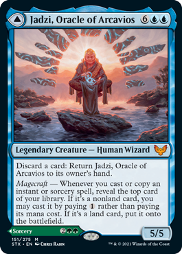 Jadzi, Oracle of Arcavios