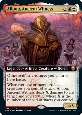 Alibou, Ancient Witness