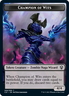 Champion of Wits (Eternal)