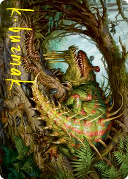Blex, Vexing Pest Art Card