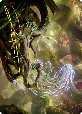 Emergent Sequence Art Card