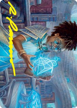 Zimone, Quandrix Prodigy Art Card