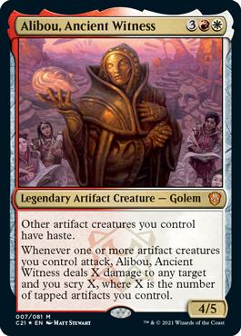 Alibou, Ancient Witness