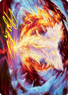 Magma Opus Art Card