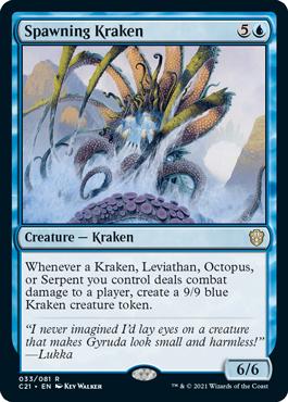 Spawning Kraken